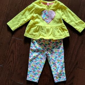 Carter's infant outfit